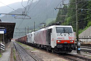 RTC 189 901 + Lokomotion 186 433 Brennero (I) 21 juni 2019