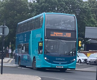 Arriva North East 7527 NK14 GDE