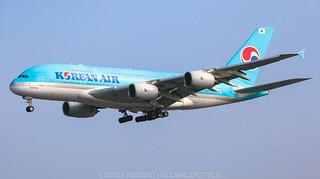 AIRBUS A380-800 KOREAN AIR | LAX-KLAX