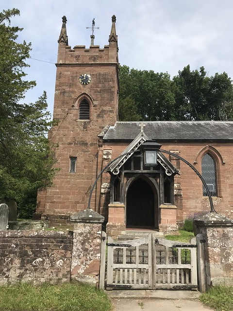 St Giles Church, Badger, Shropshire