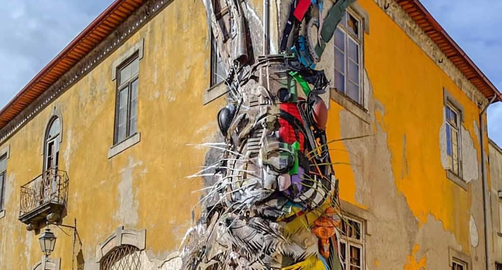Street art in Vila Nova de Gaia | Mooistestedentrips.nl
