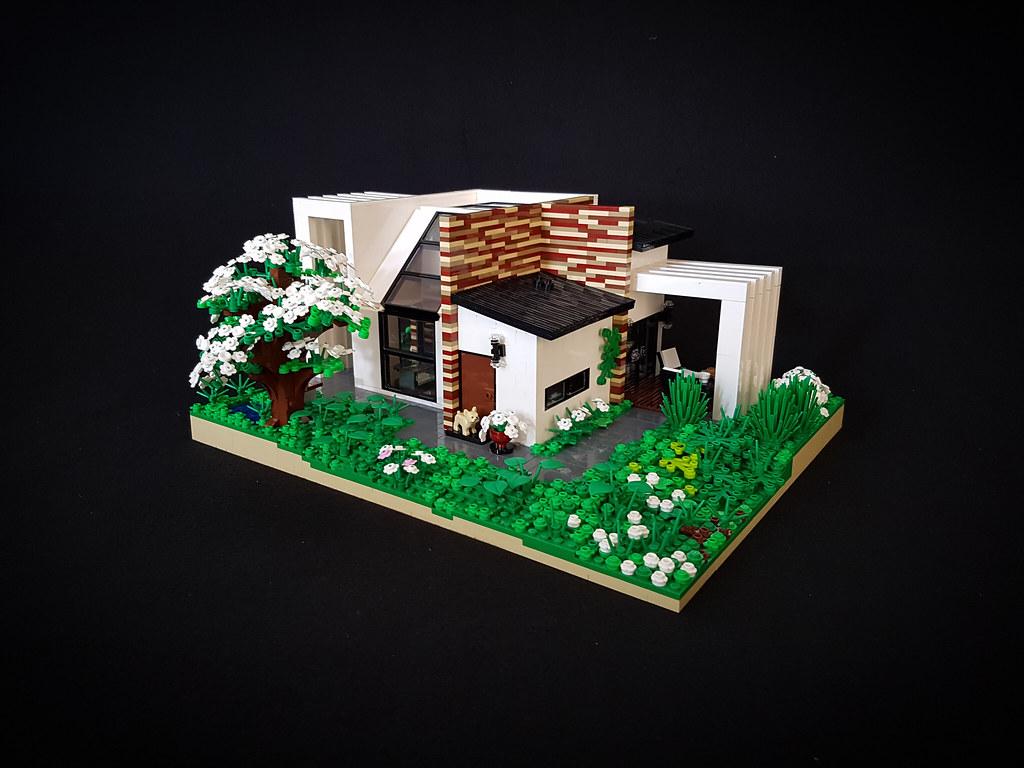 Cherry Loft House MOC. Welcome! (custom built Lego model)