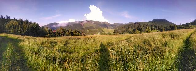 Panorama nad Nižnou Bocou / Xperia xa2 ultra