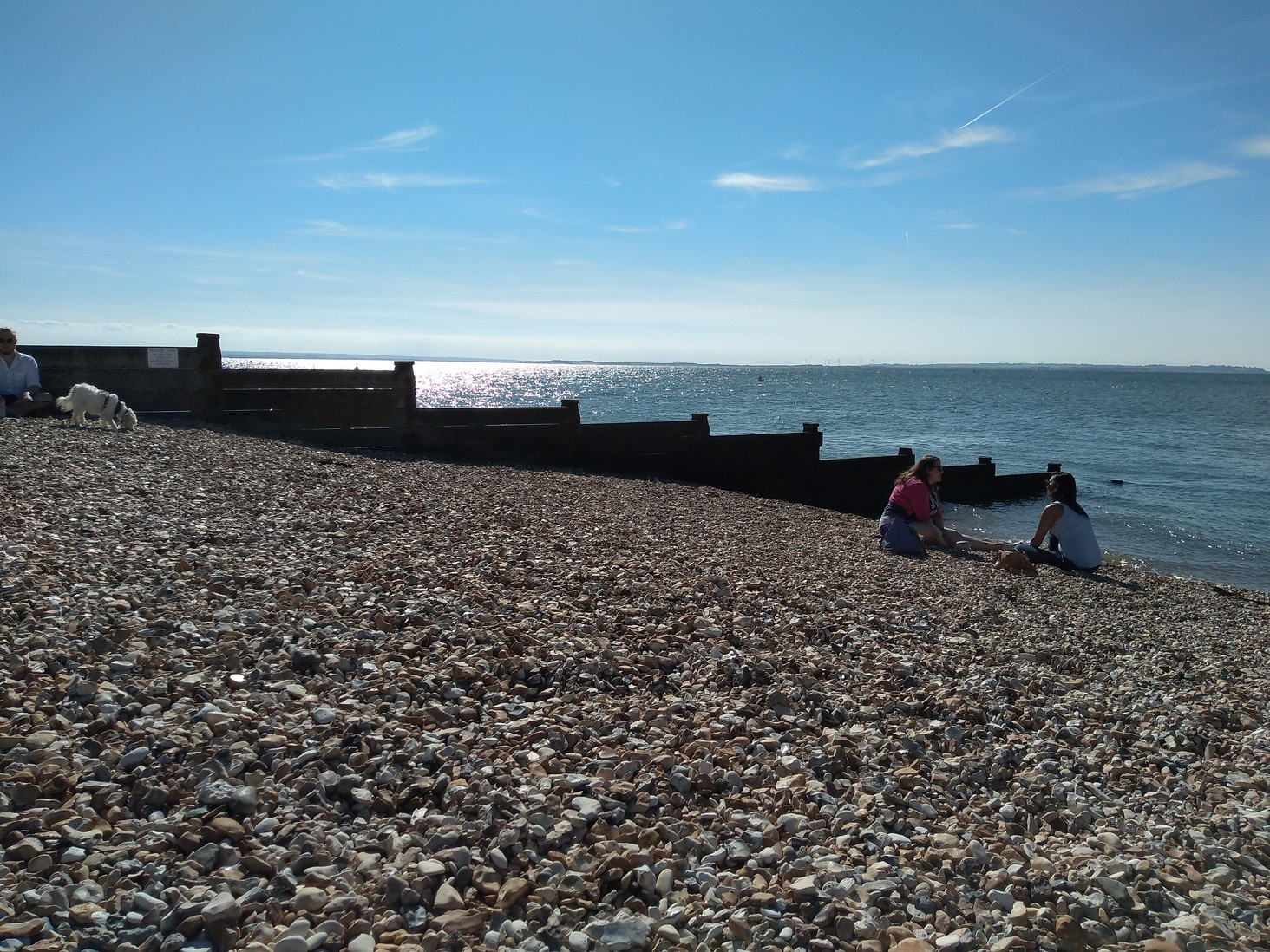 Whitstable shoreline