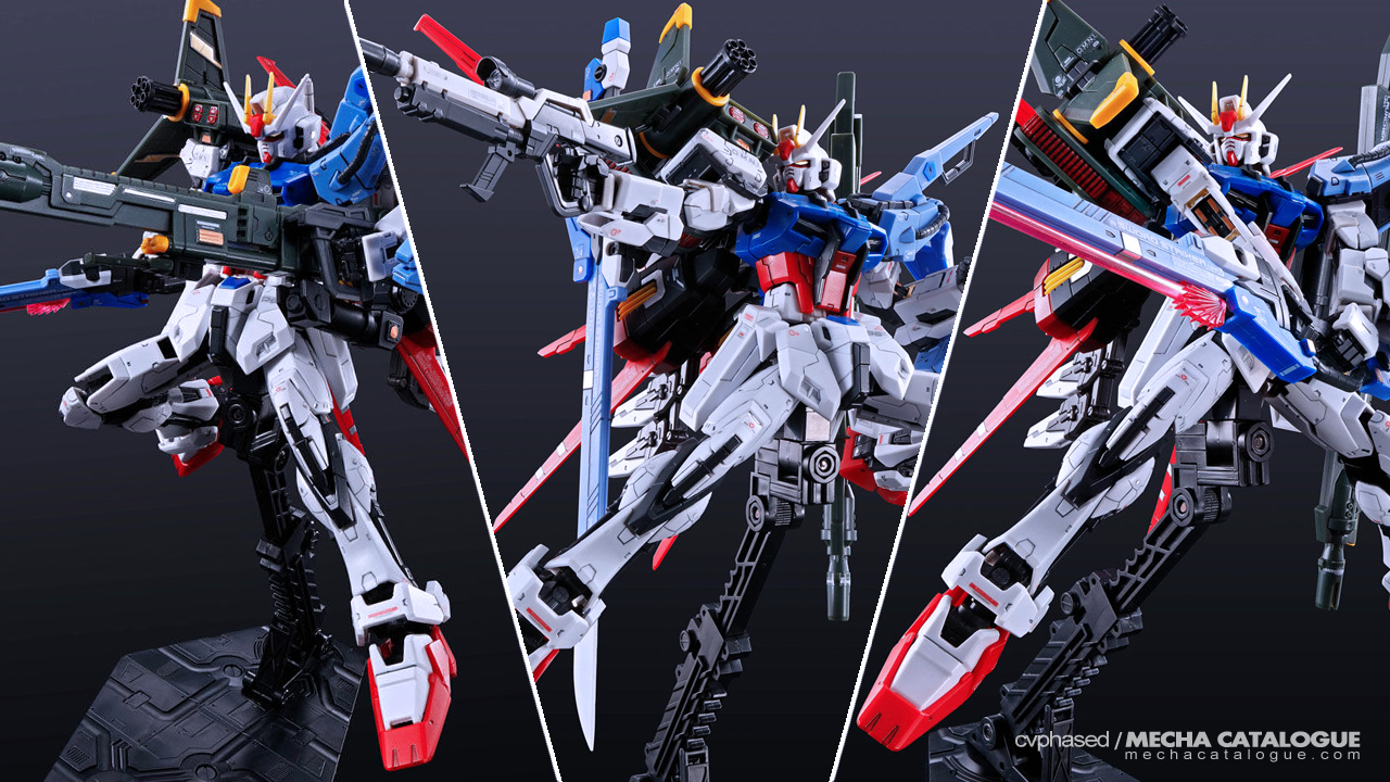 News Catch Up: RG Perfect Strike Gundam