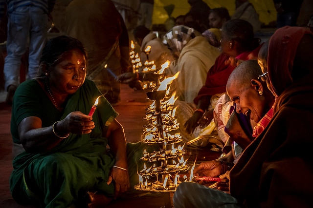 Puja, Ghats, Varanasi