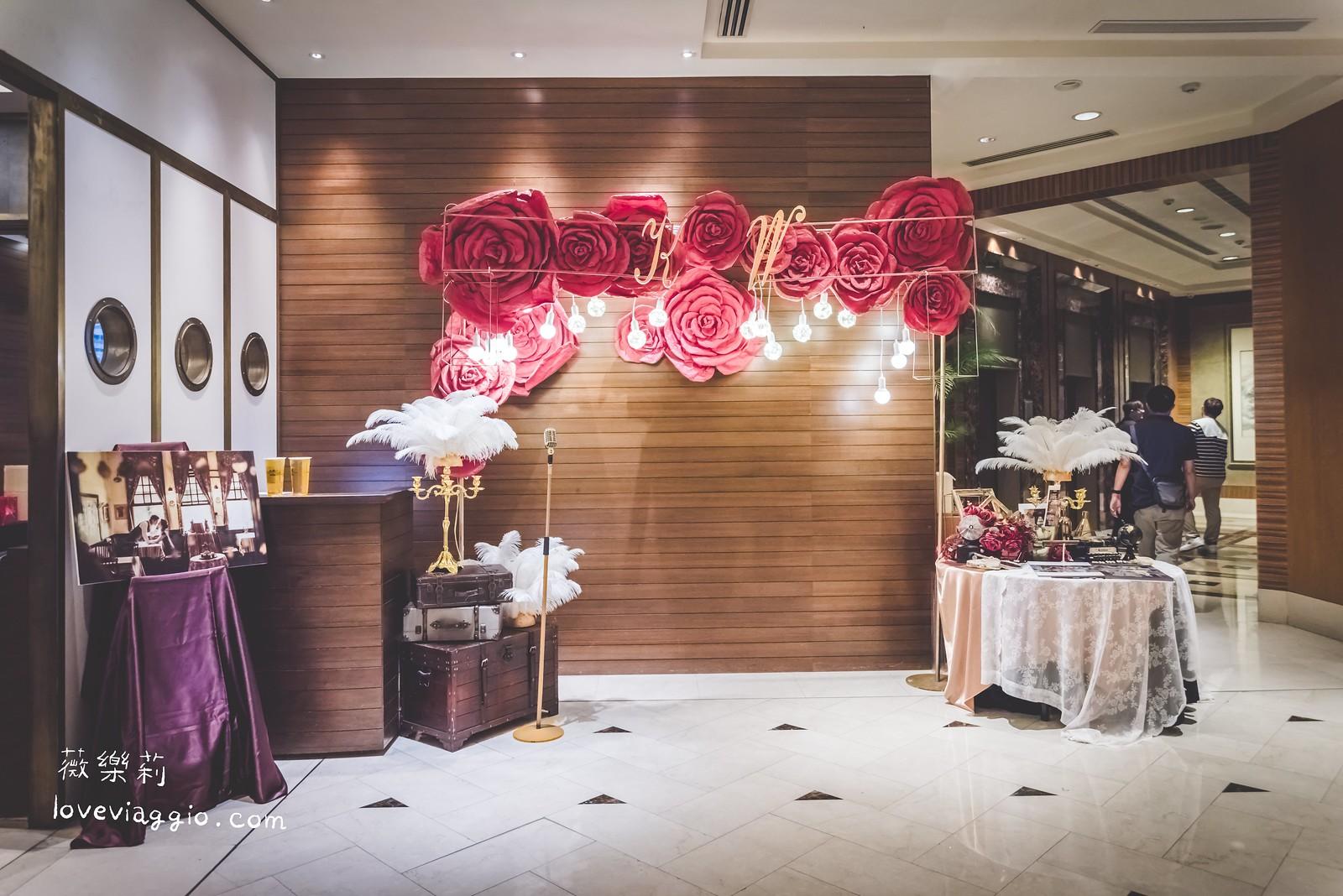 Wedding|高雄國賓戶外池畔婚禮♡中西式復古風格晚宴 @薇樂莉 Love Viaggio | 旅行.生活.攝影