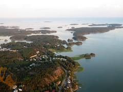 Flight over Espoo   Suvisaaristo