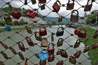 Salzburg: Makartsteg love locks