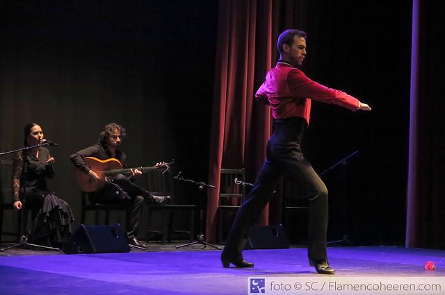 Jóvenes en Arte Flamenco Cajasol 2019