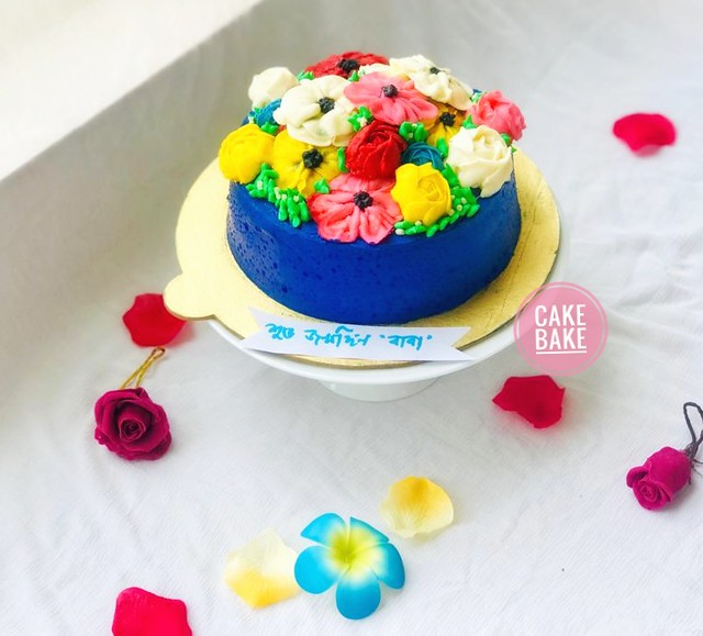 Flower Garden by Tanjia Enam of Cake Bake