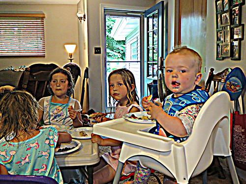 Marn, Lou, Josie, & Cora