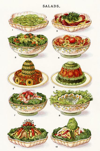 Sommerhitze? Salat !