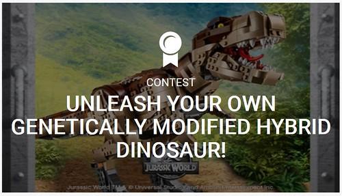 Ideas Unleash Genetically Modified Hybrid Dinosaur Contest
