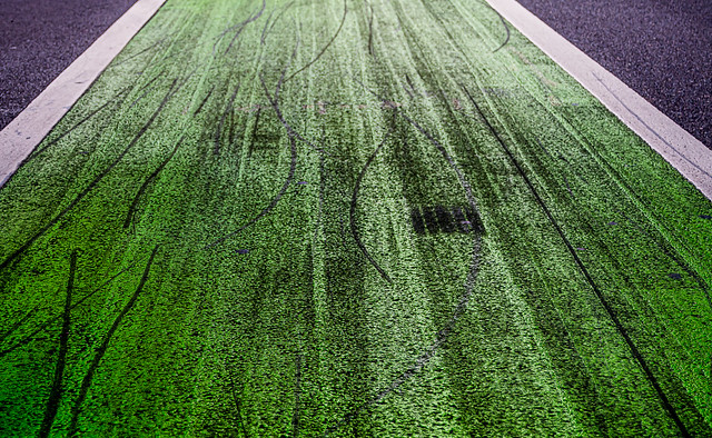 Green Path Bicycle Skids