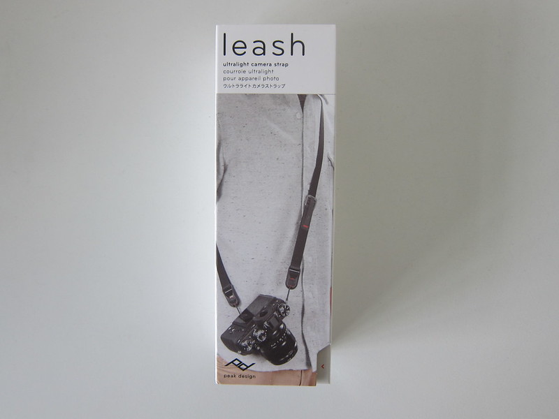 Peak Design Leash - Box Front