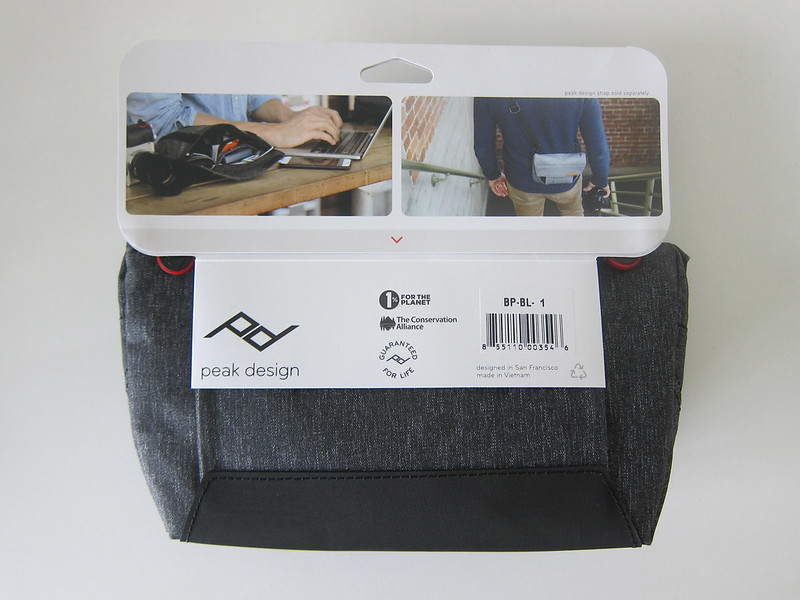 Peak Design Field Pouch - Tag - Back