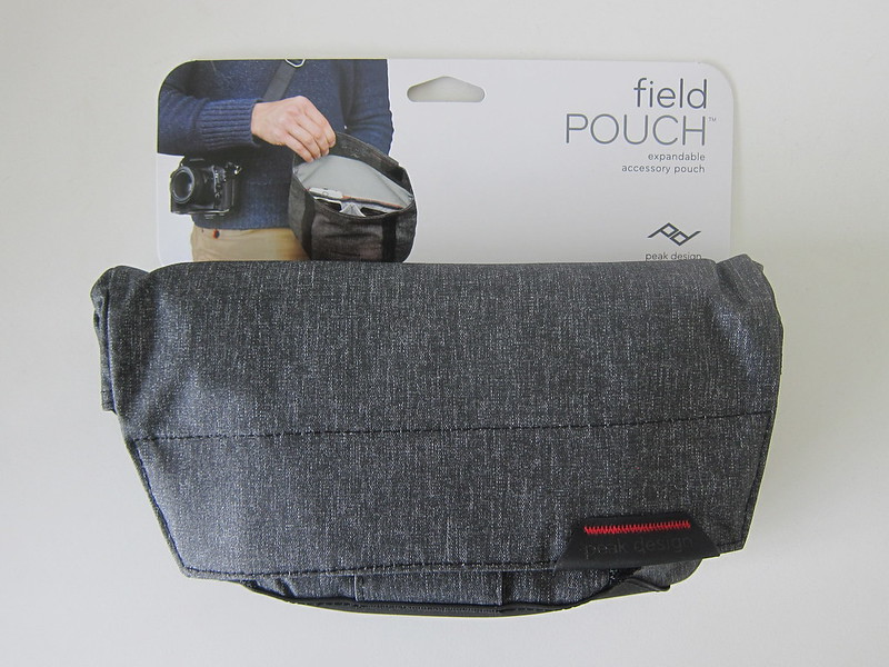 Peak Design Field Pouch - Tag - Front