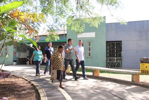 Visita técnica para verificar as condições de funcionamento do Centro de Saúde Eduardo Mauro de Araújo - Comissão de Saúde e Saneamento