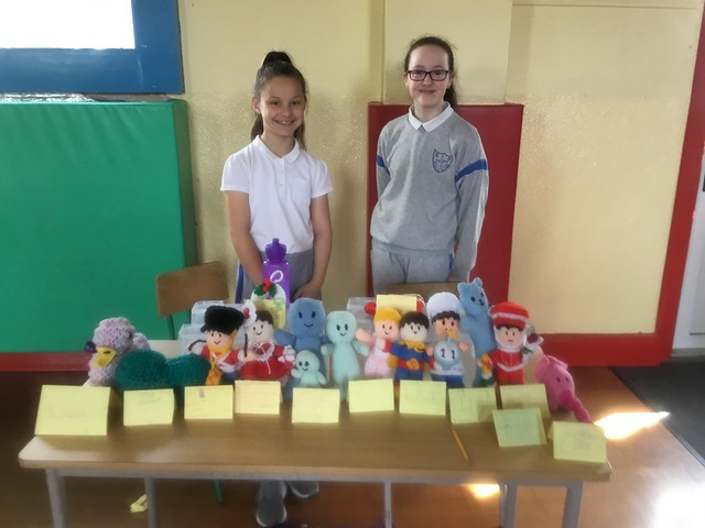 Fourth Class Knitting Display 2019