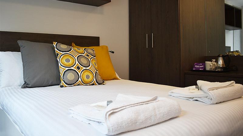 A bedroom in Polden