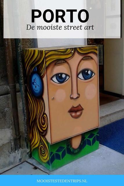 Street art in Porto: bekijk de mooiste street art in Porto | Mooistestedentrips.nl
