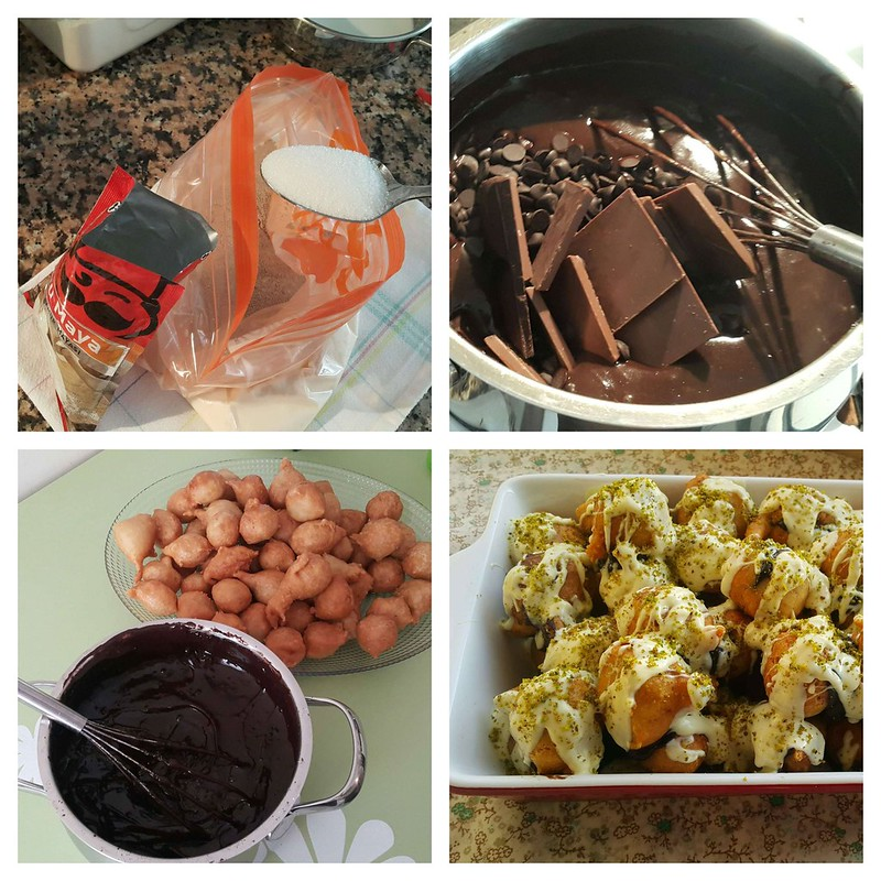 çikolatalı lokma nasıl yapılır