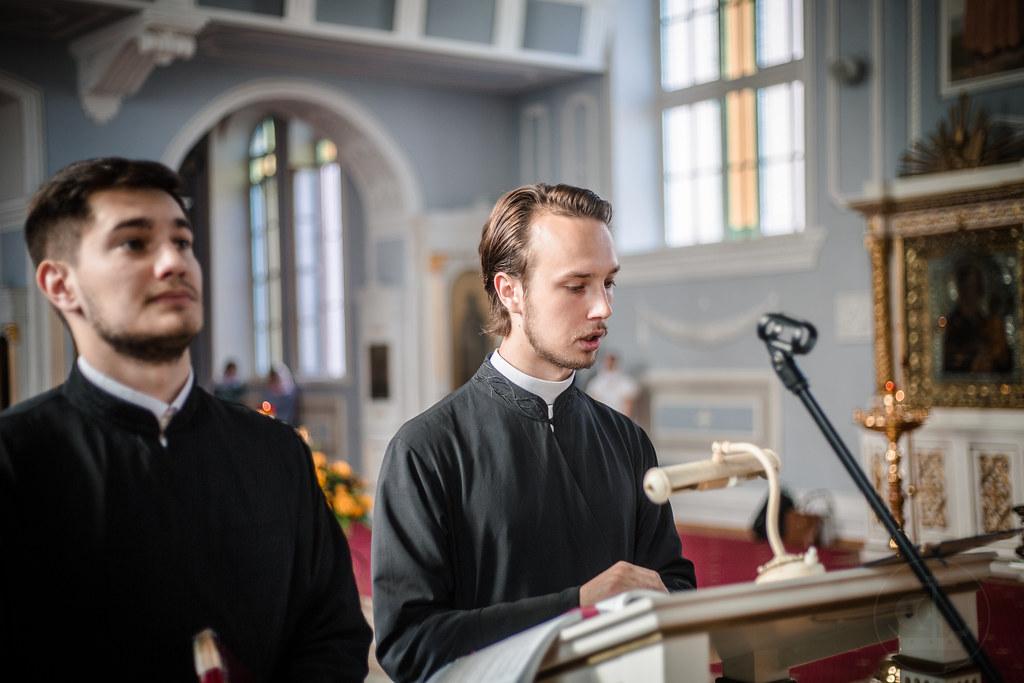 25 июня 2019, Последняя Литургия 4 курса / 25 June 2019, The last Divine Liturgy of the 4 bachelor course