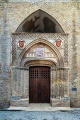 Palacio de la Aljafería: Puerta de la Iglesia de San Martín