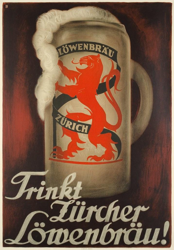 trink-zurcher-lowenbrau-lowenbrau-zurich-1927