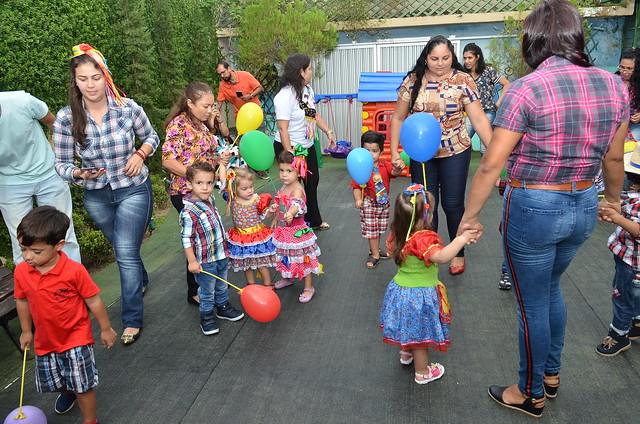 FESTA JUNINA | Creche Judith Pacheco promove arraial
