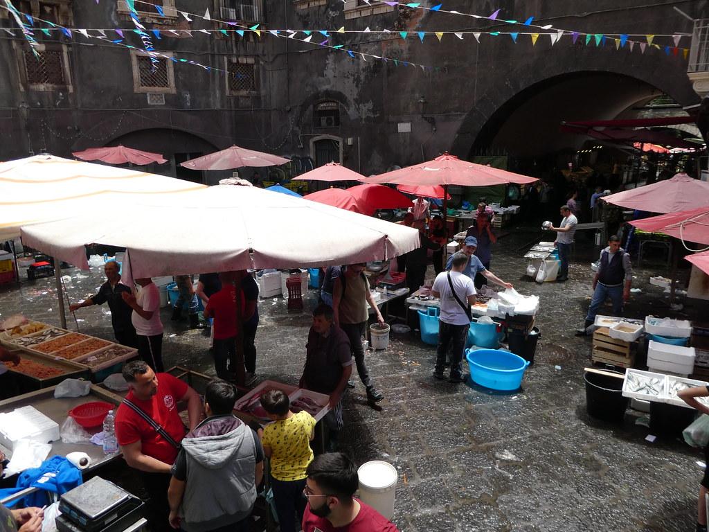 Fish Market, Catania, Sicily