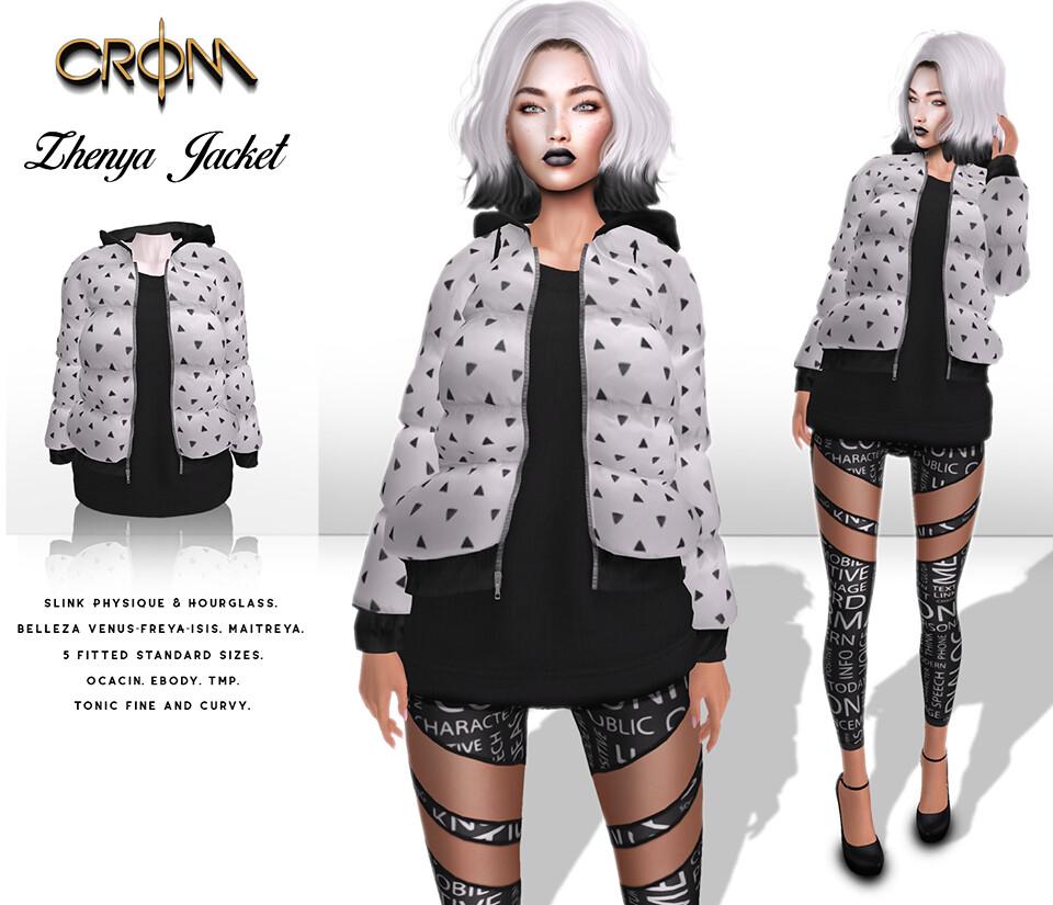 -CroM- Black&White HUNT (Number 3)
