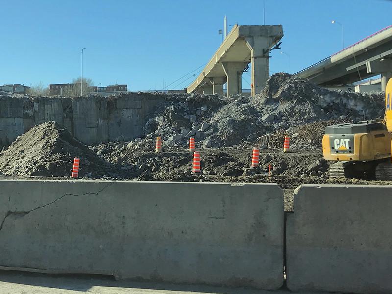 Turcot demolition