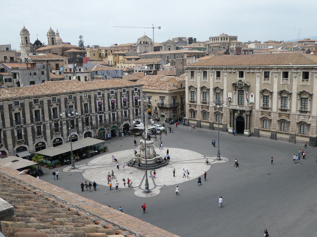 Rooftop, Catania Diocesan Museum, Sicily
