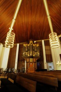 Baroque Organ, All Souls Episcopal