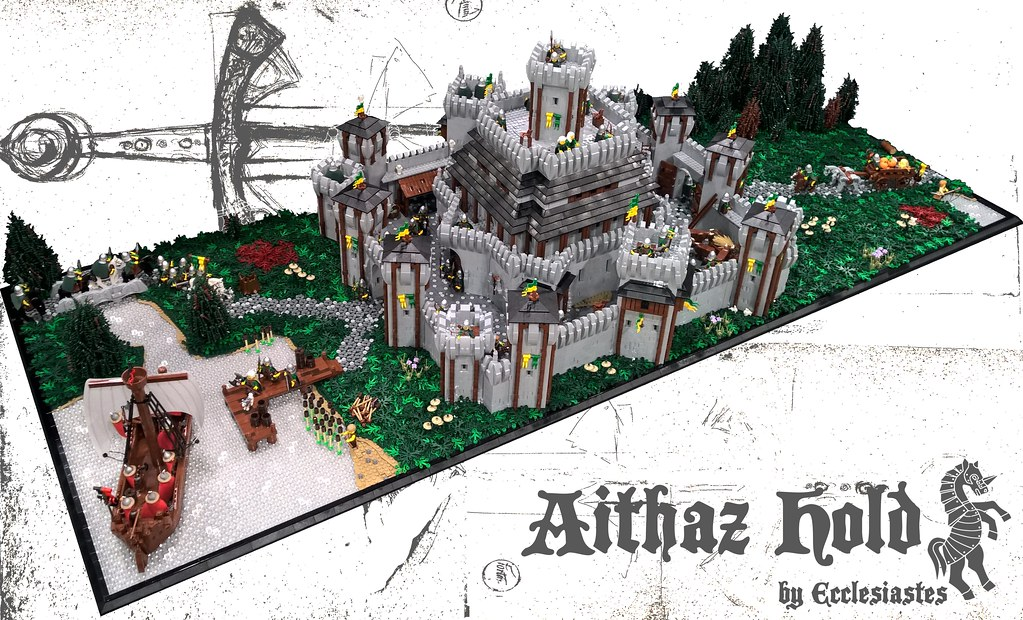 Aithaz Hold (custom built Lego model)