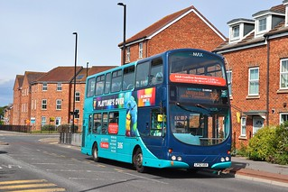 Arriva North East 7414 LF52UOX - Coastway Shopping Centre