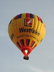 hot air ballon HB-QOU Kubicek Westfalen Switzerland