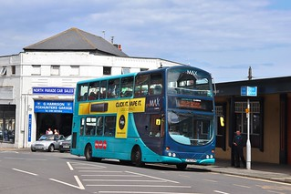 Arriva North East 7413 LF52UPN - Whitley Bay
