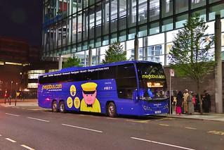 Stagecoach Midlands 54608 YX68UAR - Newcastle