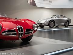 Museo Storico Alfa Romeo: Disco Volante & 2000 Sportiva
