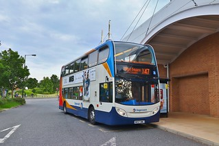 Stagecoach North East 19198 NK57DWC - Kingston Park