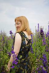 McCall's M7154 in Floral Velvet
