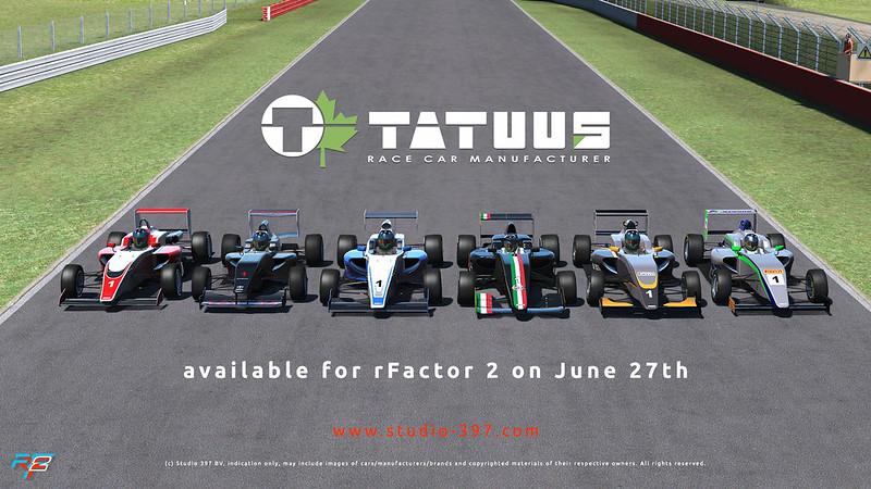 rFactor 2 Tatuus Pack
