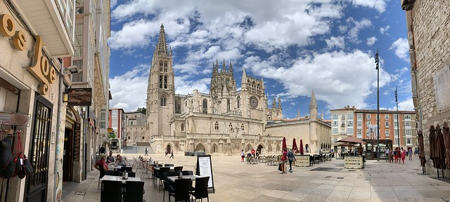 Burgos Cathedral in Spain's autonomous community of Castile and León
