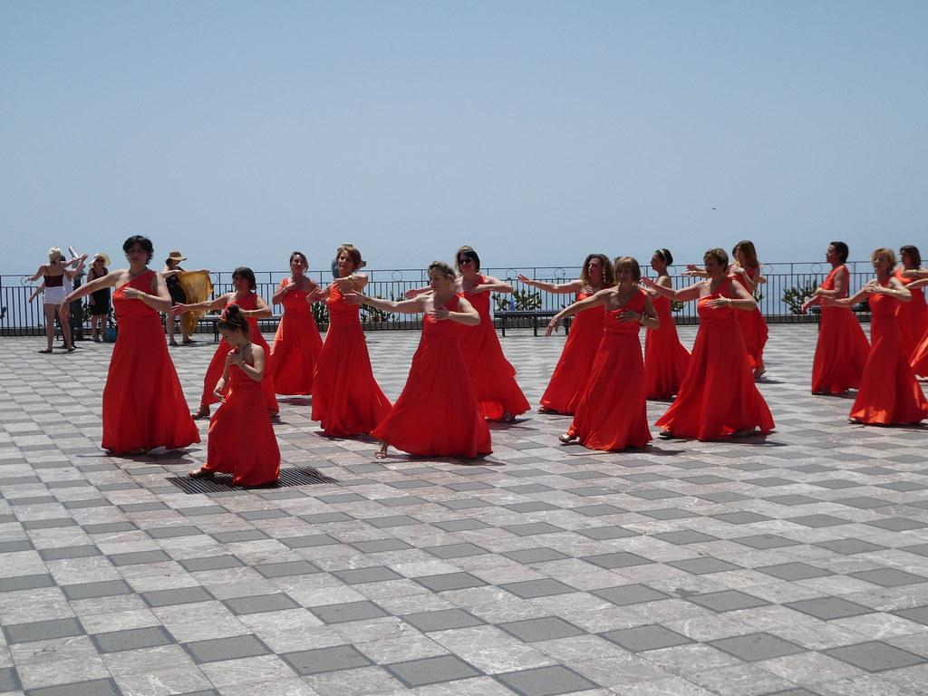 Dancers, Taormina, Sicily