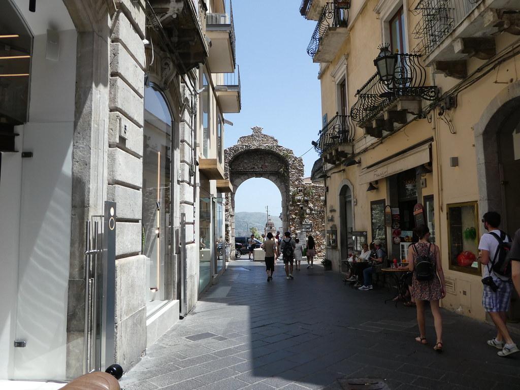 Porta Messina, Taormina, Sicily