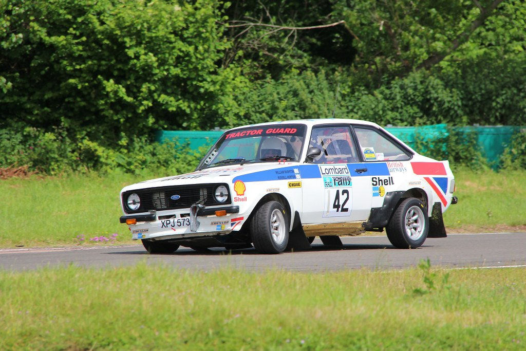 The Escort MK2 of Bill Rushton at Curborough (A Leivers)