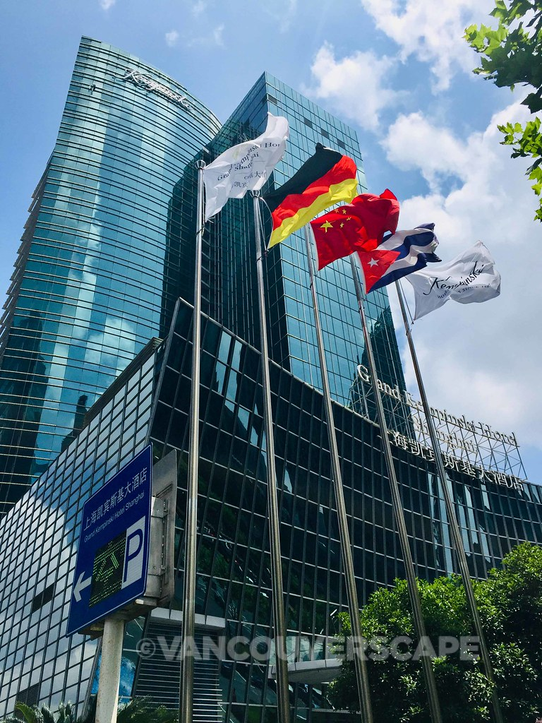 Grand Kempinski Shanghai exterior